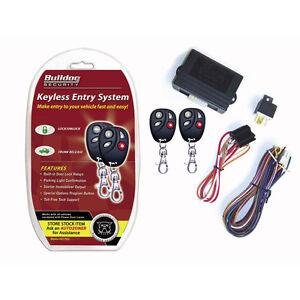 bulldog security remote keyless entry system ke1702. Black Bedroom Furniture Sets. Home Design Ideas