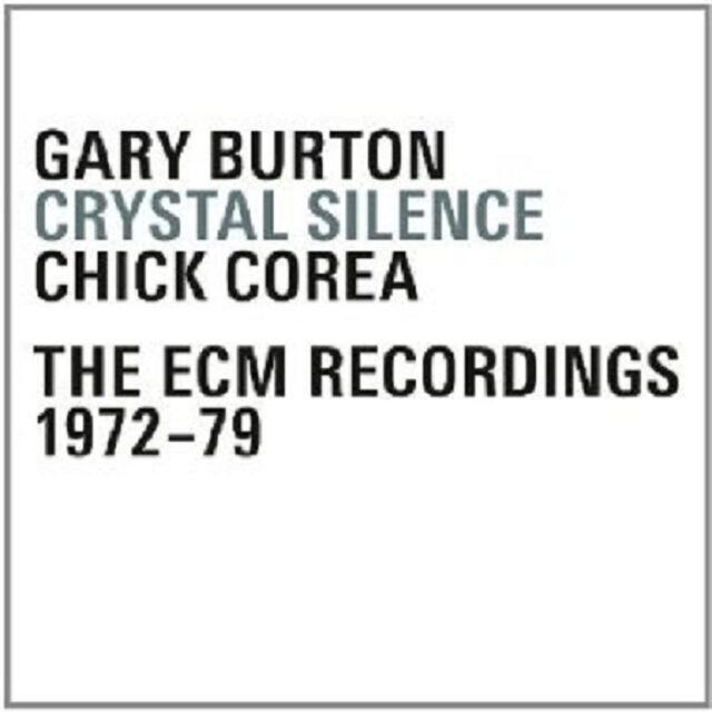GARY/COREA,CHICK BURTON - CRYSTAL SILENCE-THE ECM RECORDINGS 1972-79 4 CD NEU