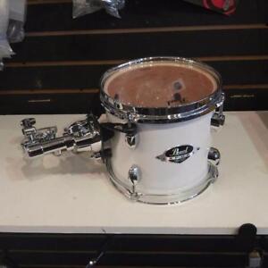 "Pearl Export tom EXX8, white/blanc 8"" avec bracket, tom arm et clamp"