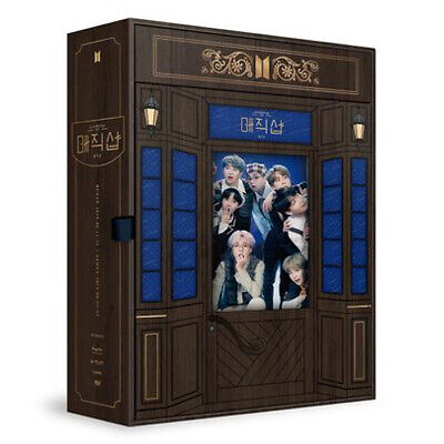 BTS [MAGIC SHOP] 5TH MUSTER FAN MEETING DVD 4DISC+Photo Book+Pop-up+2p Card+GIFT