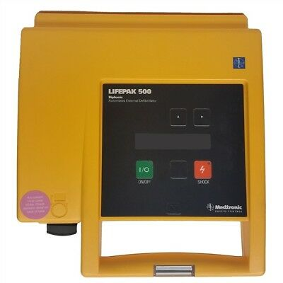 Lifepak 500 - Biphasic - With New Battery And New Adult Pads - Biomed Tested