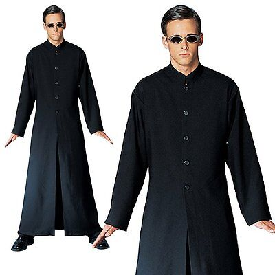 The Matrix Neo Cybe Man Halloween Mens Fancy Costume One Size, Robe+Gunglasses