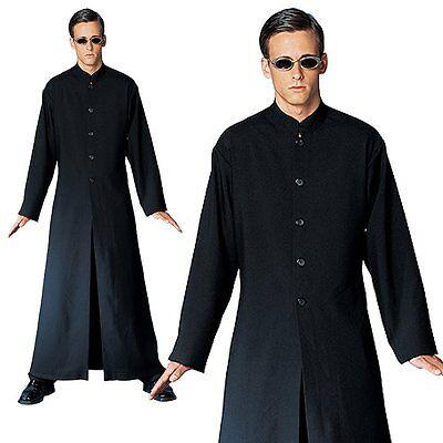 Neo Matrix Costume (The Matrix Neo Cybe Man Halloween Mens Fancy Costume One Size,)