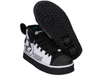 HEELYS X2 ZOO 3D PANDA BRAND NEW ROLLER SKATES TRAINERS BOXED UNUSED size UK 11 NEW!!!