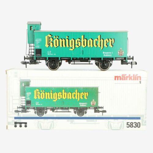 Märklin 5830 Gauge 1 Freight Car Königsbacher New Condition Original Box