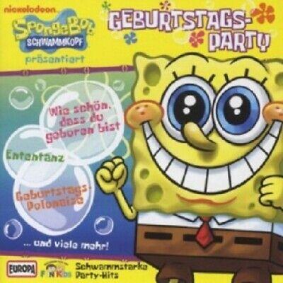 FUN KIDS - 4/SPONGE BOB PRÄSENTIERT-GEBURTSTAGSPARTY  CD 18 TRACKS NEU ()