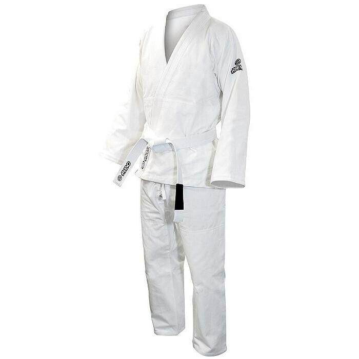 New Reevo Evolve The Guard Brazilian Kimono BJJ Gi - White - Size A5