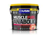 USN Muscle Fuel Anabolic 4Kg, Whey Protein