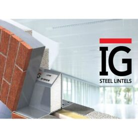 IG Extra Heavy Duty Steel Lintel L5/50 2100mm Long