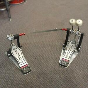DW double Bass Pedal 9000 series - usage-used