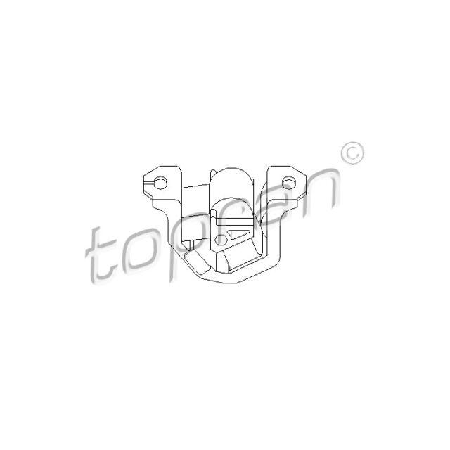 TOPRAN Engine Mounting Engine Mounting 201 367