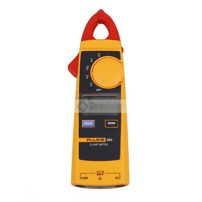 Fluke 362 Handheld Digital Multimeter Clamp Meter True Rms Ac Dc Tester