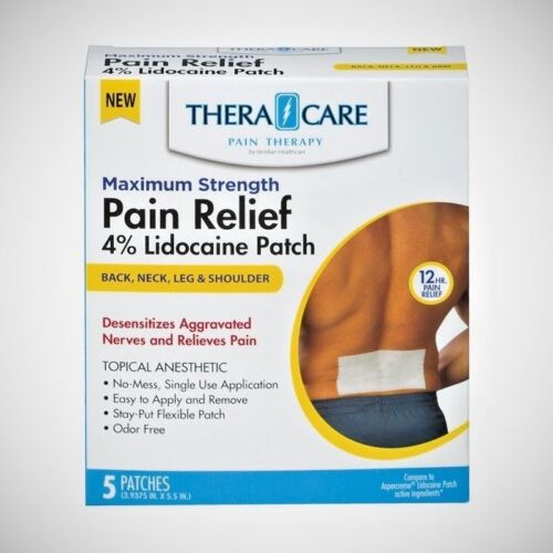 TheraCare Lidocaine 4% Pain Relief Patch - 5ct