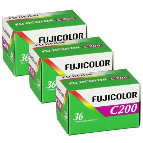 Fujifilm Fujicolor C200 35mm Color Film Roll 36 exposures - 3 Pack