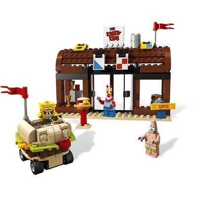 Lego Krusty Krab Adventures (3833) 99% Complete Pre-owned