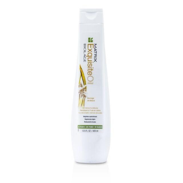 NEW Matrix Biolage ExquisiteOil Oil Creme Conditioner 400ml Mens Hair Care