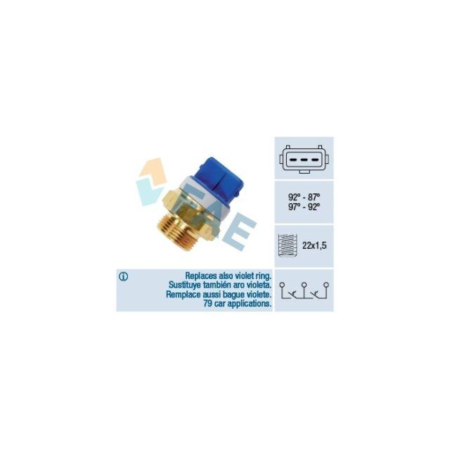 FAE Temperature Switch, radiator fan 37920