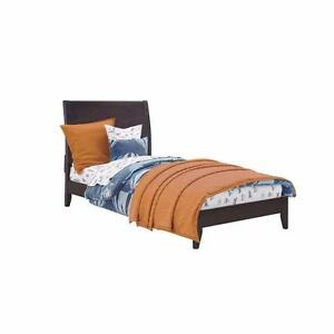 Wood Bed - Twin/Single Size Brown