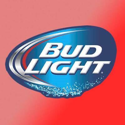 Bud Light Vinyl Decal Sticker Car Cooler Bar Beer Man Cave Alcohol Garage Tool Alcohol Vinyl Decal Sticker