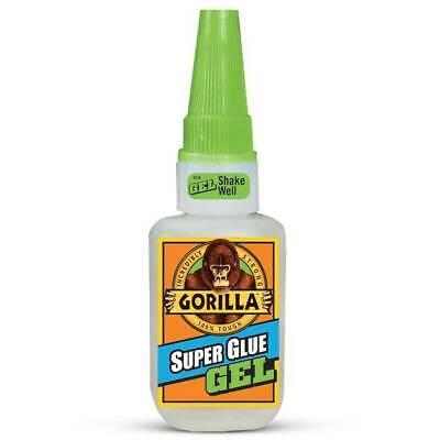 Gorilla Glue Super Glue Gel Heavy Duty Strength 15g Clear 76001