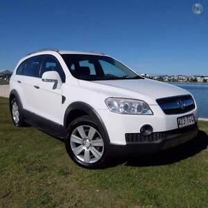 2008 Holden Captiva LX 7 Seat Wagon **EASY FINANCE* Merrimac Gold Coast City Preview