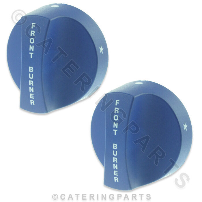 IMPERIAL 112317 BLUE GAS TAP VALVE CONTROL KNOB FRONT BURNER CHOOSE ...