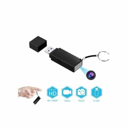 Mini HD Hidden Spy Covert Surveillance Body Camera Recorder Built-In DVR