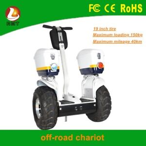 Off-road Self Balancing Electric Chariot (Segway)