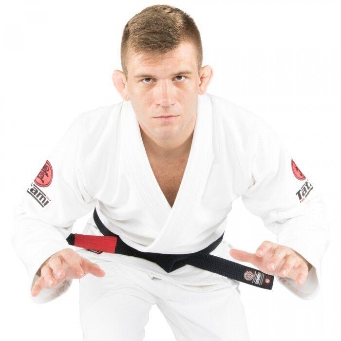 Tatami Nova Minimo 2.0 BJJ Gi Black Jiu Jitsu Kimono Uniform Free White Belt