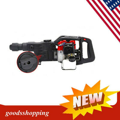 1800w Gasoline Demolition Hammer Breaker Jack Drill Concrete Hammer Power Tool