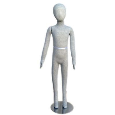 Mn-254 Pinnable Flexible Child Kid Mannequin With Head 4 6c