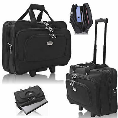 Pilotentrolley Laptop Trolley XL FLIGHT BAG MANAGER Notebook Koffer Boardcase