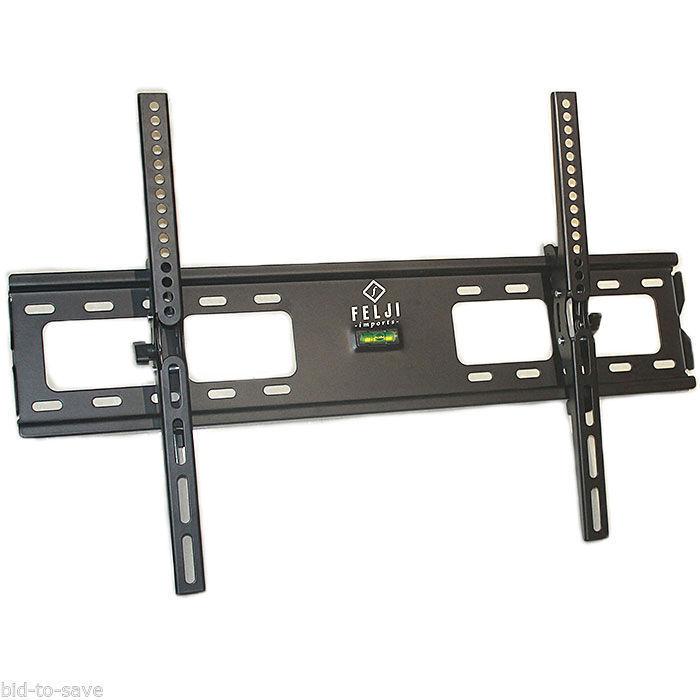"""LCD Plasma Flat Tilt TV Wall Mount Bracket for 32 37 42 46 50 52 55 57 60 65 70/"""""""