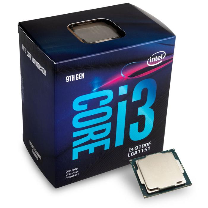 Intel Core i3-9100F 4-Core 3.6 Ghz (4.2 GHz Turbo) Processor BX80684I39100F 3