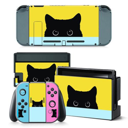 Nintendo Switch Cat Kitten Console & Joy-Con Controller Decal Vinyl Skin Wrap