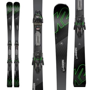 K2 TURBO CHARGERS SKIS & MARKER BINDINGS