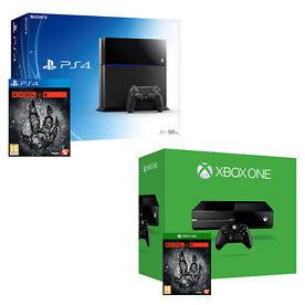 Pre-Order! Console + Evolve Bundle for PS4 & XBoxOne