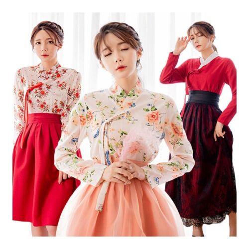 Korean Dress Korea Modernized Traditional Costume Modern Hanbok Jeogori Jacket