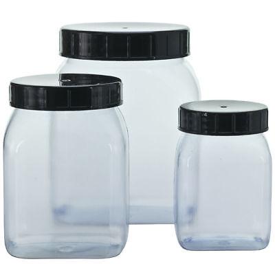 NEU PVC-Klarsichtdose leer für 500 ml Inhalt