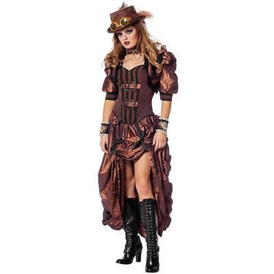 Damen-Kostüm Steampunk de Luxe Viktorianisch England    (Kostüme De Lux)