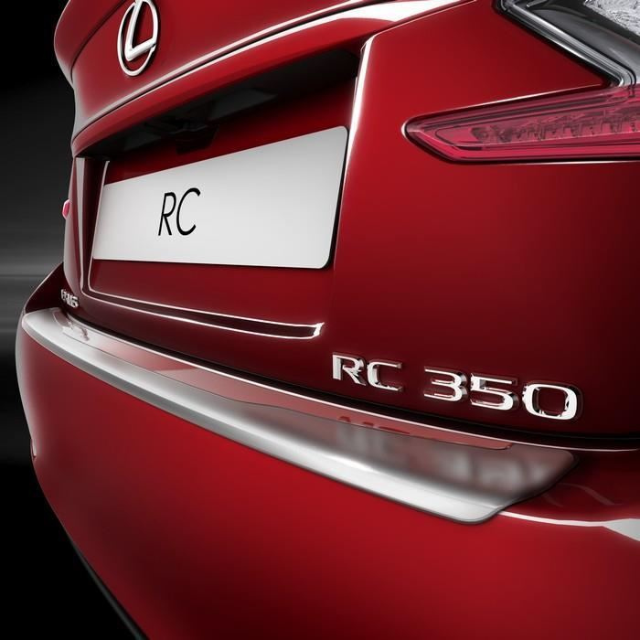 Genuine Lexus RC300H Rear Bumper Protection Plate Stainless Steel - PZ402C4521ZB