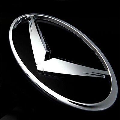 GT Logo Tuning 3D Emblem Clear Red For 11 12 13 Hyundai Sonata i45