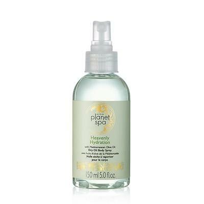 AVON PLANET SPA HEAVENLY HYDRATION WITH MEDITERRANEAN OLIVE OIL DRY OIL BODY -