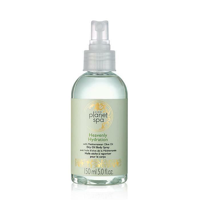 AVON PLANET SPA HEAVENLY HYDRATION WITH MEDITERRANEAN OLIVE