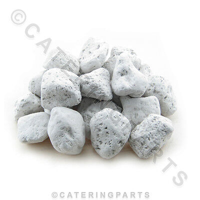 2kg Bag Of Grey Light Weight Pumice Stone Gas Bbq Commercial Char-grill Lava