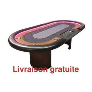 Table de Poker Dealer Del / Poker table Led Dealer