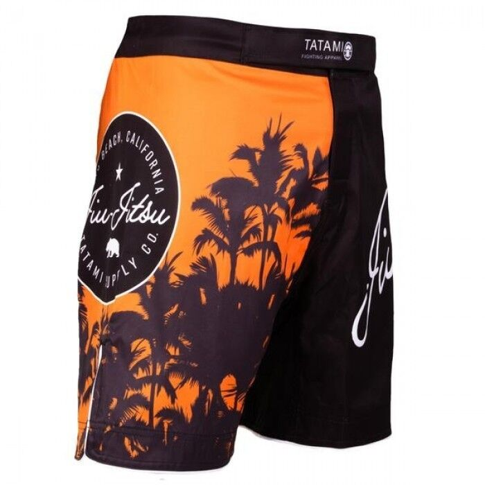 Black by Nogi Industries MADE IN USA Phantom 3.0 Fight Shorts