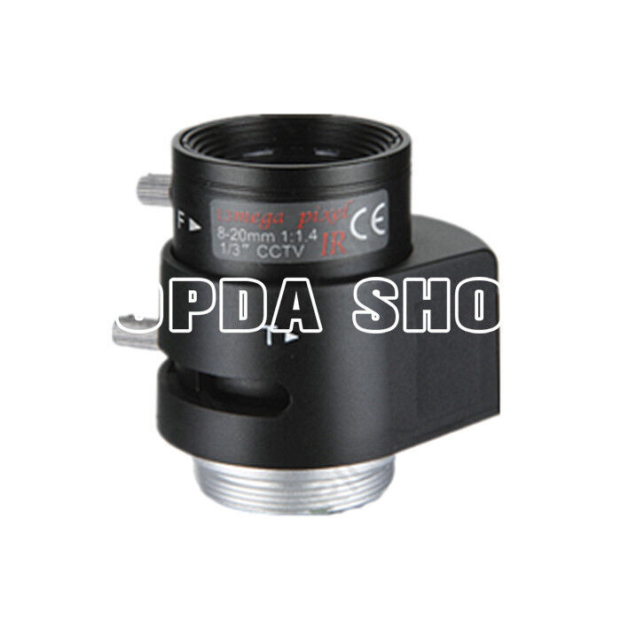RV0820D.IR 1/3 8-20mm 130W  F1.4 Automatic aperture infrared Camera lens#SS