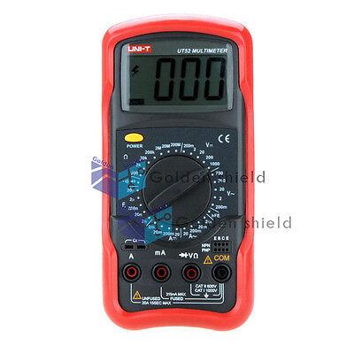 Uni-t Ut52 Meter Inductance Capacitance Resistance Multimeter Ohm Capacitance