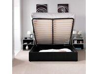 Kingsize bed frame only. NO Mattress